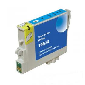 Ink Compatible For Epson T0632, Cyan