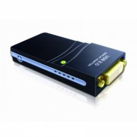 USB 2.0 to DVI Display Adaptor with VGA / HDMI converter, [WS-UG17D1], up to 1920 x 1080 pixels
