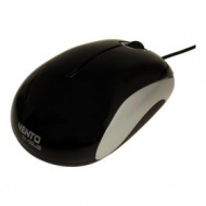 ASUS MS643U Mouse + 3 Wheel Black, USB 800 dpi