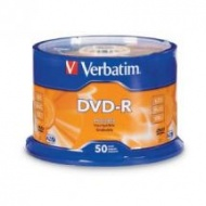 Verbatim DVD-R 50pcs Spindle printable surface