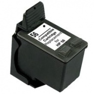 Ink Compatible for HP56 [C6656A]-Black