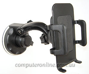 Flexible Car Windshield Mount Holder for Mobile Phone, MP3, GPS