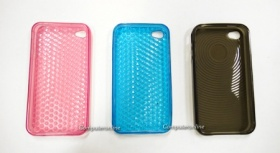 TPU Cover for iPhone 4 - Pink