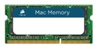 4GB CORSAIR Mac Memory [CMSA4GX3M1A1333C9], 1333MHz/CL9/DDR3 SO-DIMM
