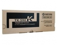 Kyocera TK-594K BLACK TONER KIT, YIELD 7K FOR FS-C...