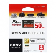 8GB SONY Memory Stick Pro-HG Duo HX Rev.B 50M/s