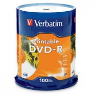 Verbatim DVD-R 4.7GB 16x White 100sp