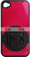 iPhone 4 / 4S Case with Standard - Red