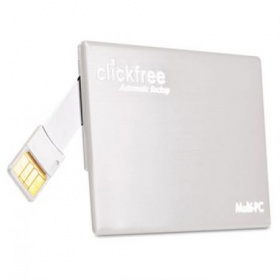 16GB clickfree Ultra Thin Portable Backup Flash Dr...
