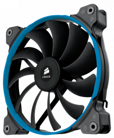 "Corsair ""Air Series"" AF140 Quiet Edtiion Case Fan, Three User Replaceable Coloured Rings - High Airflow and Low Noise,Now You Can Have Both"