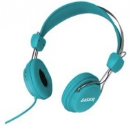 Laser Headphones Stereo Kids Friendly Colourful Bl...