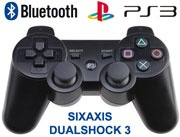 Bluetooth Sixaxis Dual-shock 3 Game Controller for PS 3