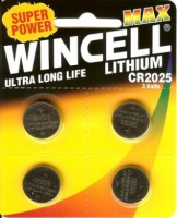 Wincell Lithium C2025 3V 4PK