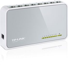 TP-Link [TL-SF1008D] 10/100M 8-port Switch
