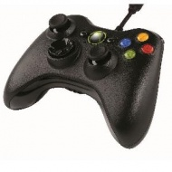 Microsoft WIRED XBOX 360 CONTROLLER - BLACK, [52A-00003]