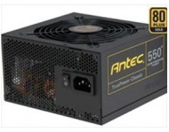 550W Antec True Power Classic. 80Plus Gold. Up to 92% Efficiency, 2x High current +12V Rails. 2 x 6+2 PCI-E. 20% energy saving >80Plus