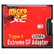 CompactFlash CF Card Adapter Single Slot for micro SD / TF Memory Card, Type I
