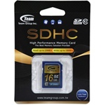 16GB Team SDHC Class 10 SD Card, [TG016G0SD28X]