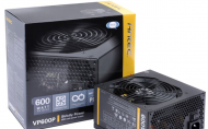 600W Antec VP Strictly PSU, 88% Efficiency, 120mm ...