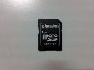 Kingston Micro SDHC to SD Adaptor