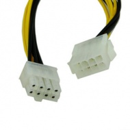 Motherboard 8 pin Extension Cable
