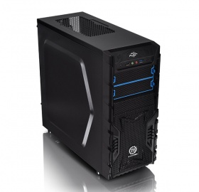 ThermalTake Black Versa H23 Mid Tower Chassis & 500w PSU (USB3)