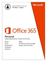 Office 365 Personal 32-bit/x64 English Subscriptio...