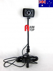 Refurbished PC camera 10X Digital Zoom Megapixel f = 3.85 mm USB Desktop PC Webcam Camera