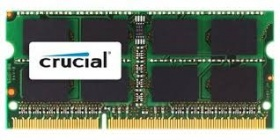 8GB Crucial DDR3L SODIMM PC12800-1600Mhz 512x8 CL11 Notebook Memory. Supports both 1.5V and 1.35V