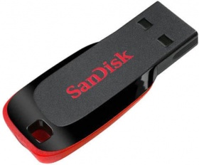 64GB Sandisk CZ50 Cruzer Blade USB Flash Drive