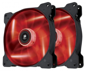 Corsair Air Series SP120 LED Red High Static Press...