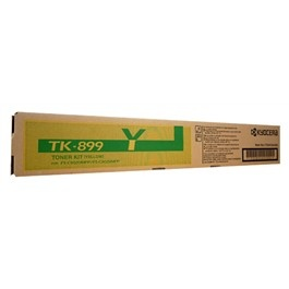 Kyocera TK-899Y, YELLOW TONER FOR FS-C8025MFP, C80...