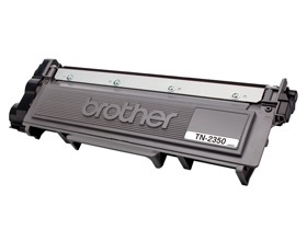 Brother TN-2350, MONO LASER TONER - HIGH YIELD CARTRIDGE TO SUIT HL-L2300D/L2340DW/L2365DW/2380DW/MFC-L2700DW/2703DW/2720DW/2740DW UP TO 2,600 PAGES
