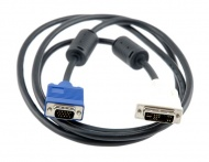 DVI to VGA cable 1.5m Male to Male