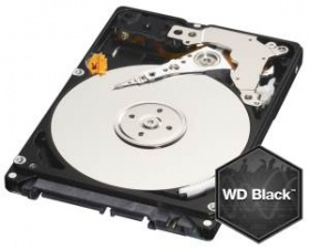 500GB WD BLACK, 7200RPM, 32MB , SATA 6Gb/s, 7MM, 5...