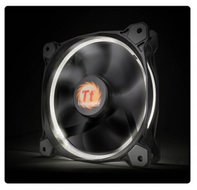 120mm ThermalTake Riing 12 White LED 1500RPM Fan