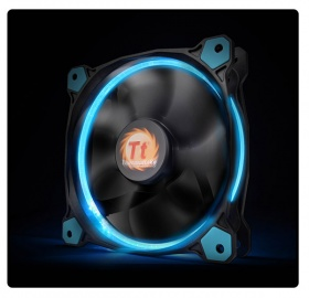 140mm ThermalTake Riing 14 Blue LED 1400RPM Fan
