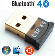 USB Bluetooth Ver 4.0 Dongle / Adapter, CSR Chipset