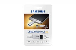 64GB Samsung Duo Type USB Drive, Metallic