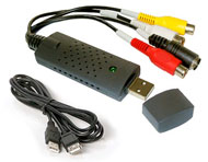 USB 2.0 Video / Audio Capture & Edit Adapter