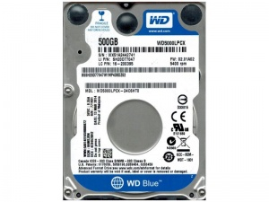 500GB WD Blue SATA 6 Gb/s 2.5-inch internal mobile...