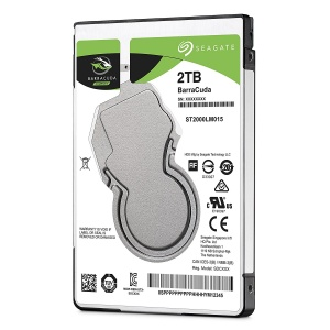 "2TB Seagate BARRACUDA 2.5"" SATA HDD 5400RPM"