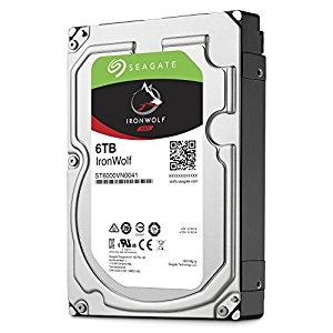 "6TB Seagate IronWolf NAS HDD, 3.5"""", , S..."
