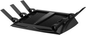 NETGEAR R8000 NIGHTHAWK WIRELESS-AC ROUTER, GbE(4), 3200MBPS,TRI-BAND, ANT(6), 2YR