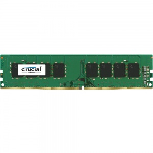 8GB Crucial DDR4 PC17000-2133Mhz 512x8 CL15 Single Ranked Desktop Memory