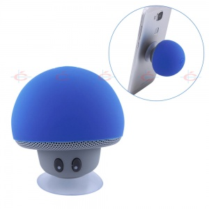 Mini Mushroom Bluetooth Wireless Speaker with Suct...