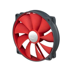 140mm DeepCool UF140 Red Blade PWM Fan (Max 1200RP...