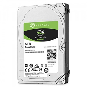 "5TB Seagate Barracuda HDD, 2.5"""", , SATA 6Gb/s, 5400rpm, 15mm"""