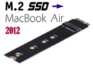 M.2 (NGFF) SSD to 2012 MacBook Air Adapter / Conve...