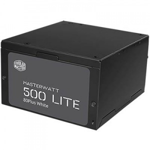 500W Coolermaster Masterwatt Lite 230V, 120mm FAN ATX PSU 3 Years Warranty